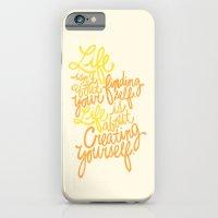 iPhone & iPod Case featuring George Bernard Shaw (Orange) by Raphaella Martelino