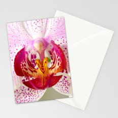 Pink points orchid 35 Stationery Cards
