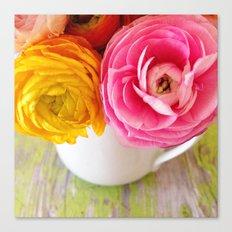 happy spring Canvas Print