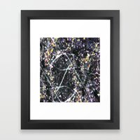 BRAMBLES Framed Art Print