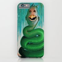 iPhone & iPod Case featuring Strange Character #1 by Grant Yuhre