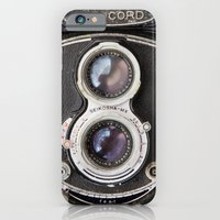 iPhone & iPod Case featuring Vintage Autocord Camera by Typography Photography™