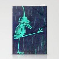 Walk Like A Bird Stationery Cards