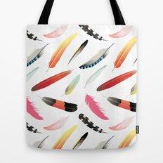 Falling Like Feathers Tote Bag
