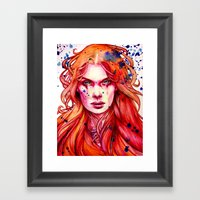 Firestarter Framed Art Print