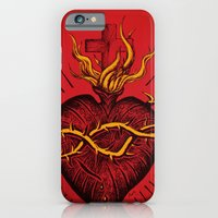 iPhone & iPod Case featuring Bleeding Heart by TheCore