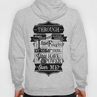 Labyrinth Quote You Have No Power Over Me Hoody