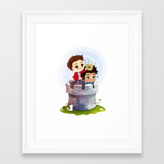 Hale Kingdom Framed Art Print