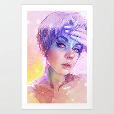 Hark Work Art Print