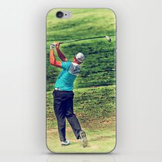 The Golf Swing iPhone & iPod Skin