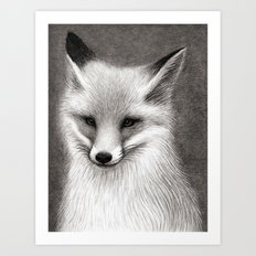 Inari the Fox Art Print