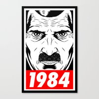 OBEY 1984 Canvas Print