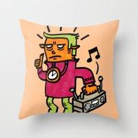 phunkye Throw Pillow