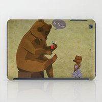 Mrs. Bear iPad Case