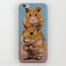 Hamsters iPhone & iPod Skin