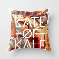 Kate Of Kale's Slut Aven… Throw Pillow