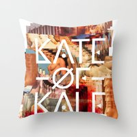 Kate Of Kale's Slut Aven… Throw Pillow