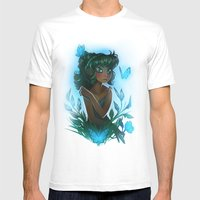 Maggie's Garden Mens Fitted Tee White SMALL