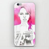 Little Trouble Girl iPhone & iPod Skin