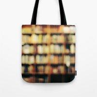 Book Bokeh Tote Bag