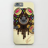 iPhone & iPod Case featuring Donut Gas Mask by Freehand profit