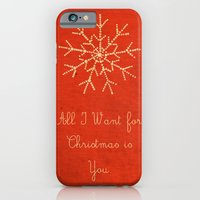 iPhone & iPod Case featuring For Christmas! by Duru Eksioglu