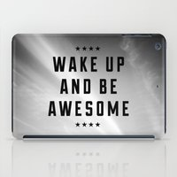 Be Awesome II iPad Case