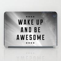 Be Awesome II iPad Case