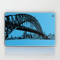 sydney in blue Laptop & iPad Skin