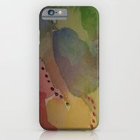 iPhone & iPod Case featuring Watercolor Abstract Mini Series #2 by Teresa Cook