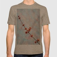 spring Mens Fitted Tee Tri-Coffee SMALL