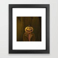 Hi, my name is Hall! Framed Art Print