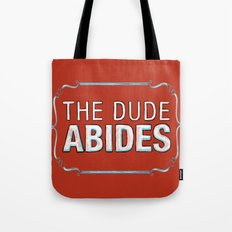 BIG LEBOWSKI- The Dude A… Tote Bag