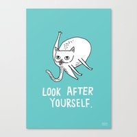Look After Yourself Canvas Print