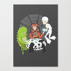 Poker 2001 Canvas Print