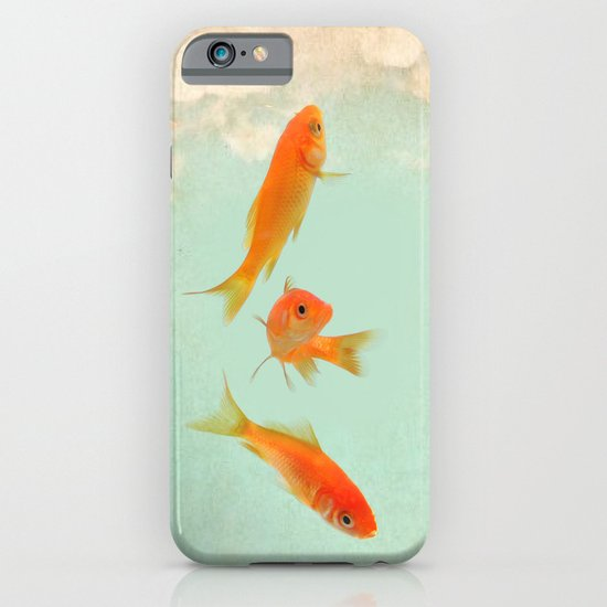 Goldfish in the sky iPhone & iPod Case