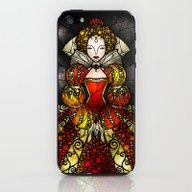 iPhone & iPod Skin featuring The Virgin Queen (Elizab… by Mandie Manzano