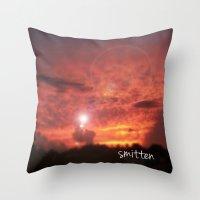Smitten Throw Pillow