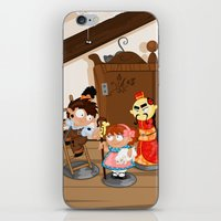 the shepherdess and the chimney sweep iPhone & iPod Skin