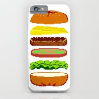 iPhone & iPod Case featuring Cheeseburger by haydiroket