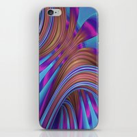 Ride The Swirl iPhone & iPod Skin