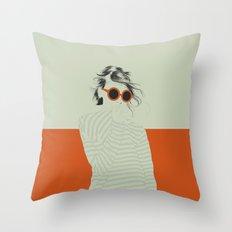 Woman Color 10 Throw Pillow