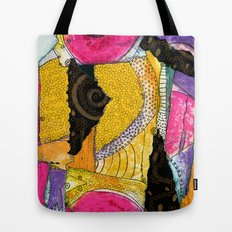 Patched Tote Bag