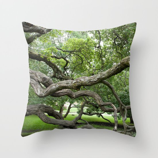 adapt or perish Throw Pillow