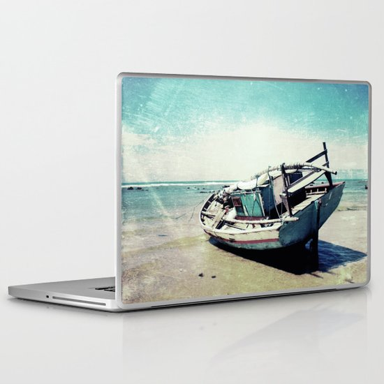 Waiting for the tide to change Laptop & iPad Skin