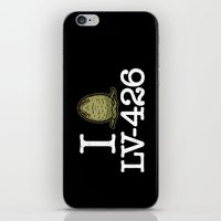 I Love LV-426 iPhone & iPod Skin