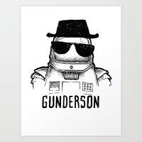 gunderson Art Print
