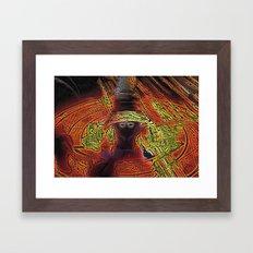 Incendium Waltz  Framed Art Print