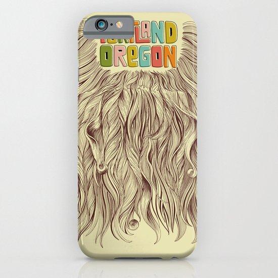 Portland = Beards iPhone & iPod Case