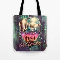 Get Lucky - Daft Punk Tote Bag